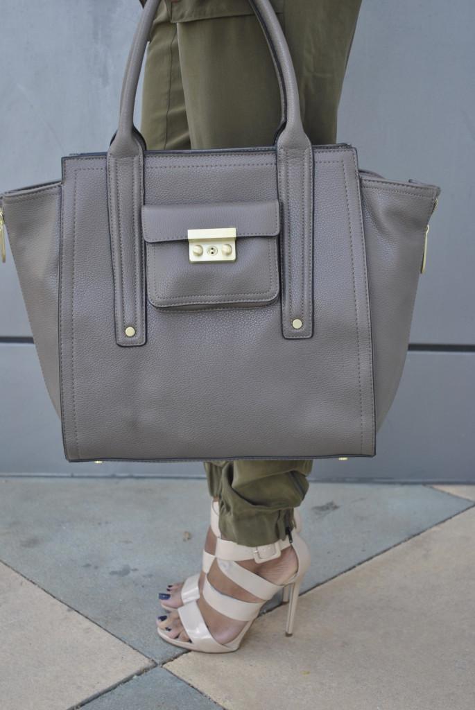 Phillip Lim for Target large grey bag