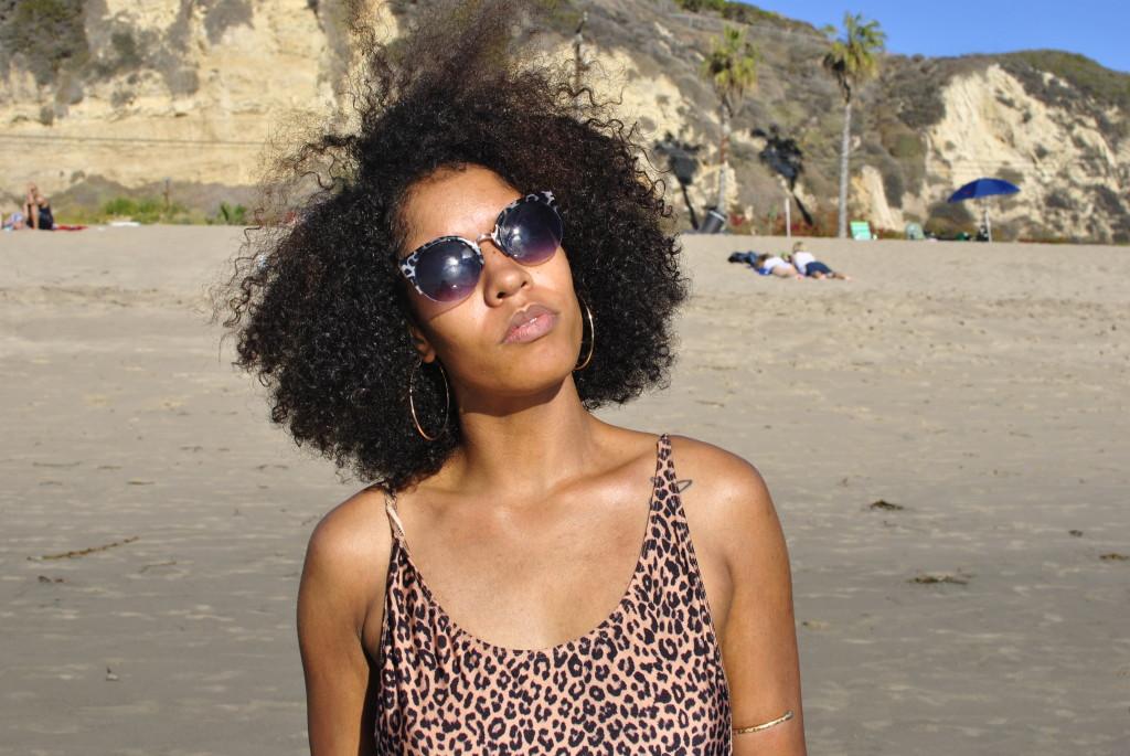 leopard american apparel bathing suit