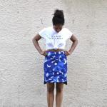 tee with skirt