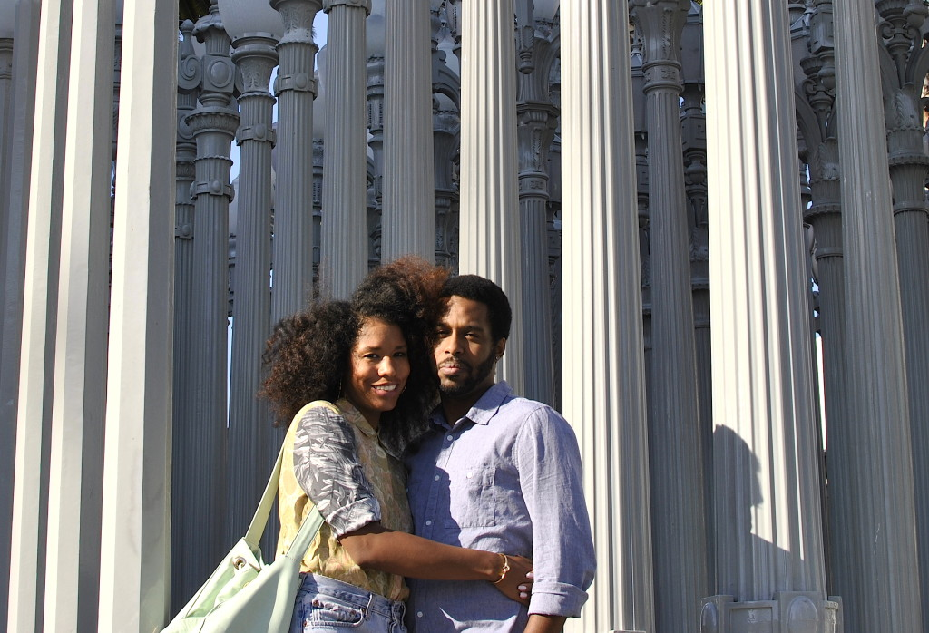 natural hair couple