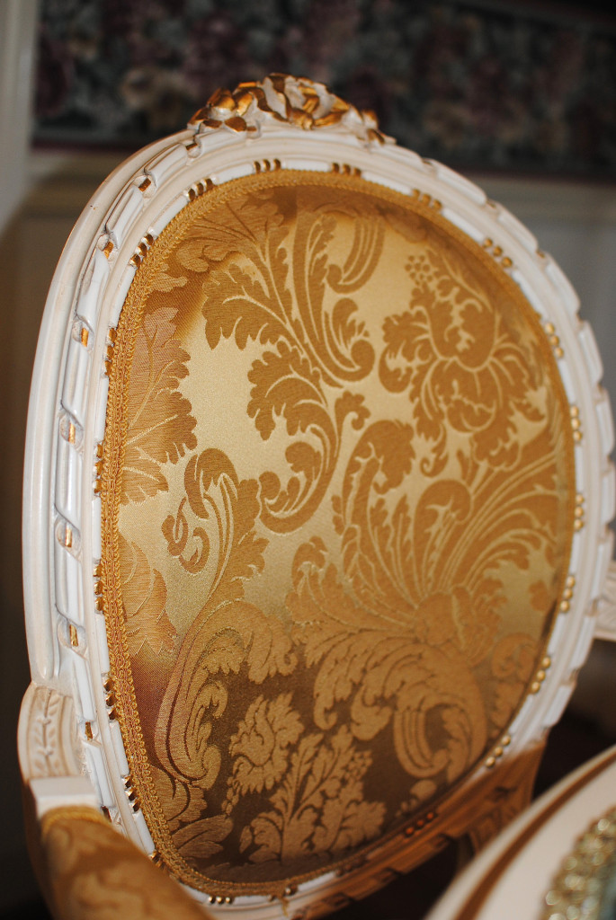 french chair gold