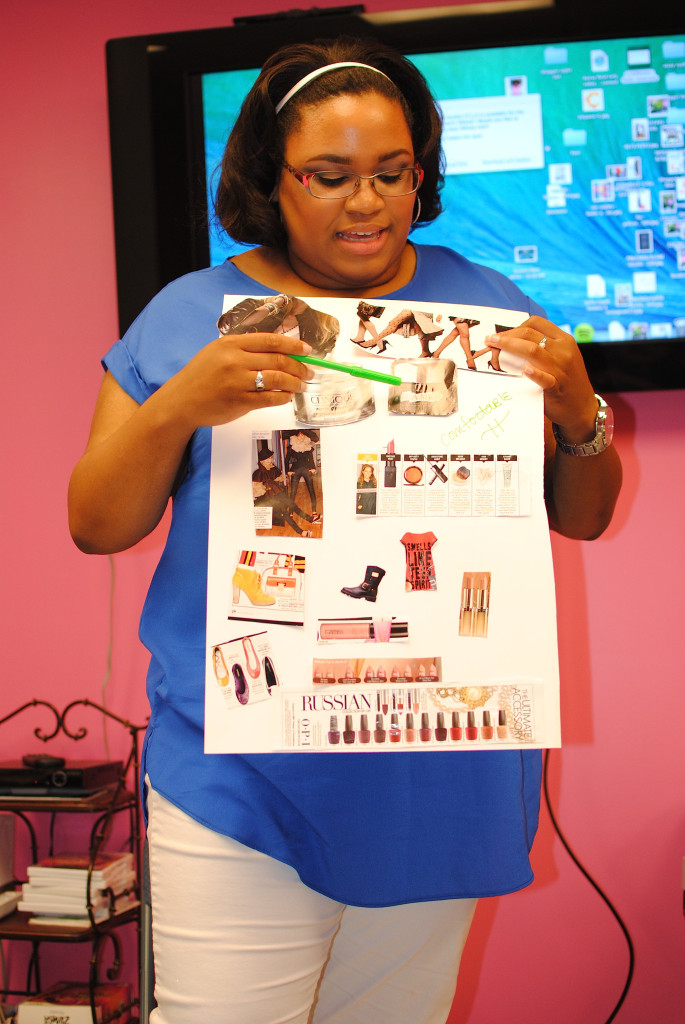 style vision board