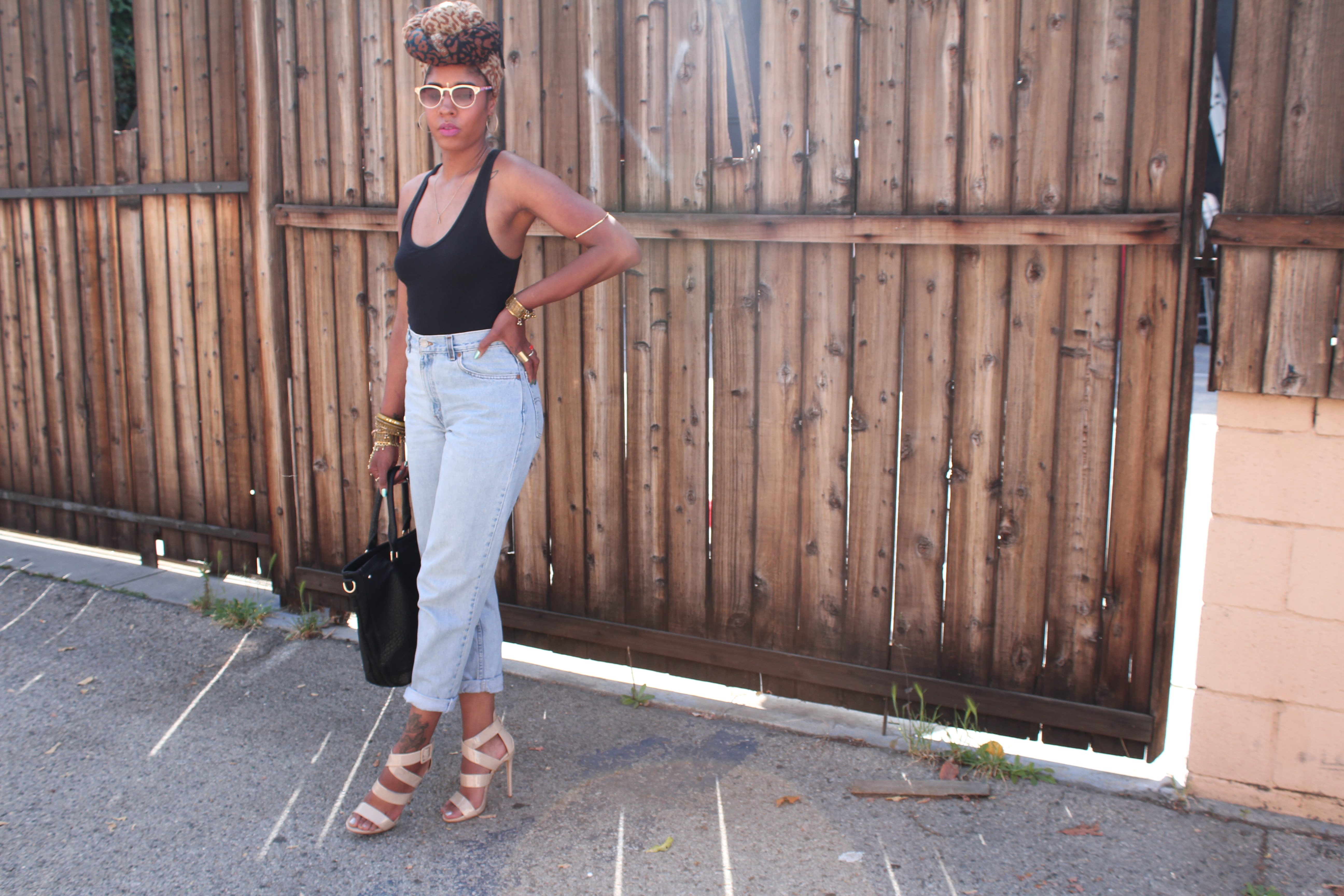 trendy mom jeans