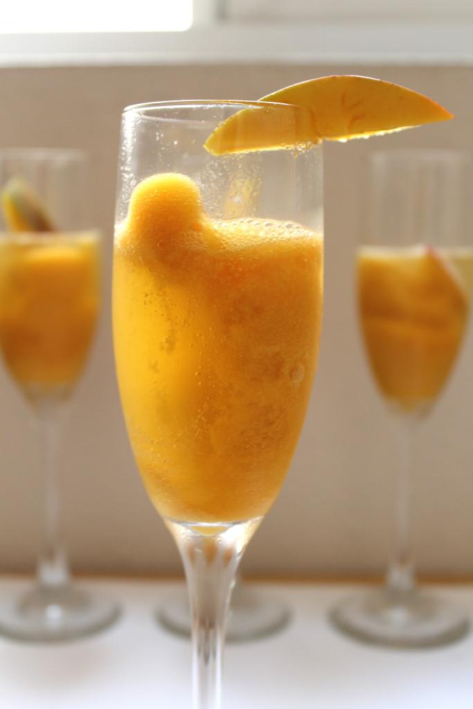 mango sherbert mimosa
