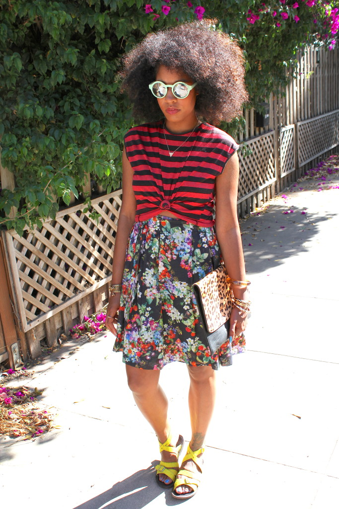 mixing prints fashion for spring and summer