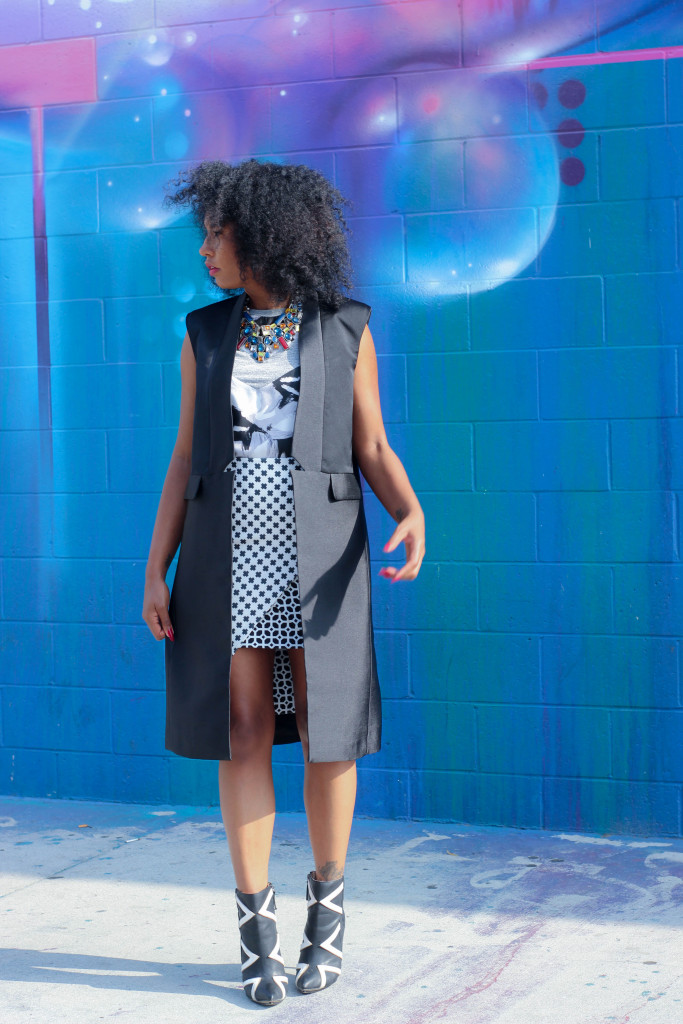 black fashion blog