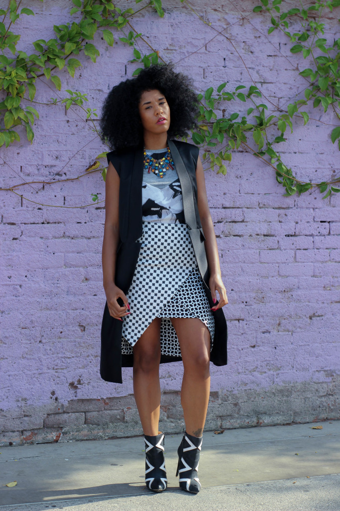 mixed prints fall fashion