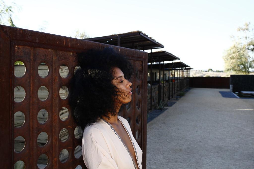 free spirit black girl