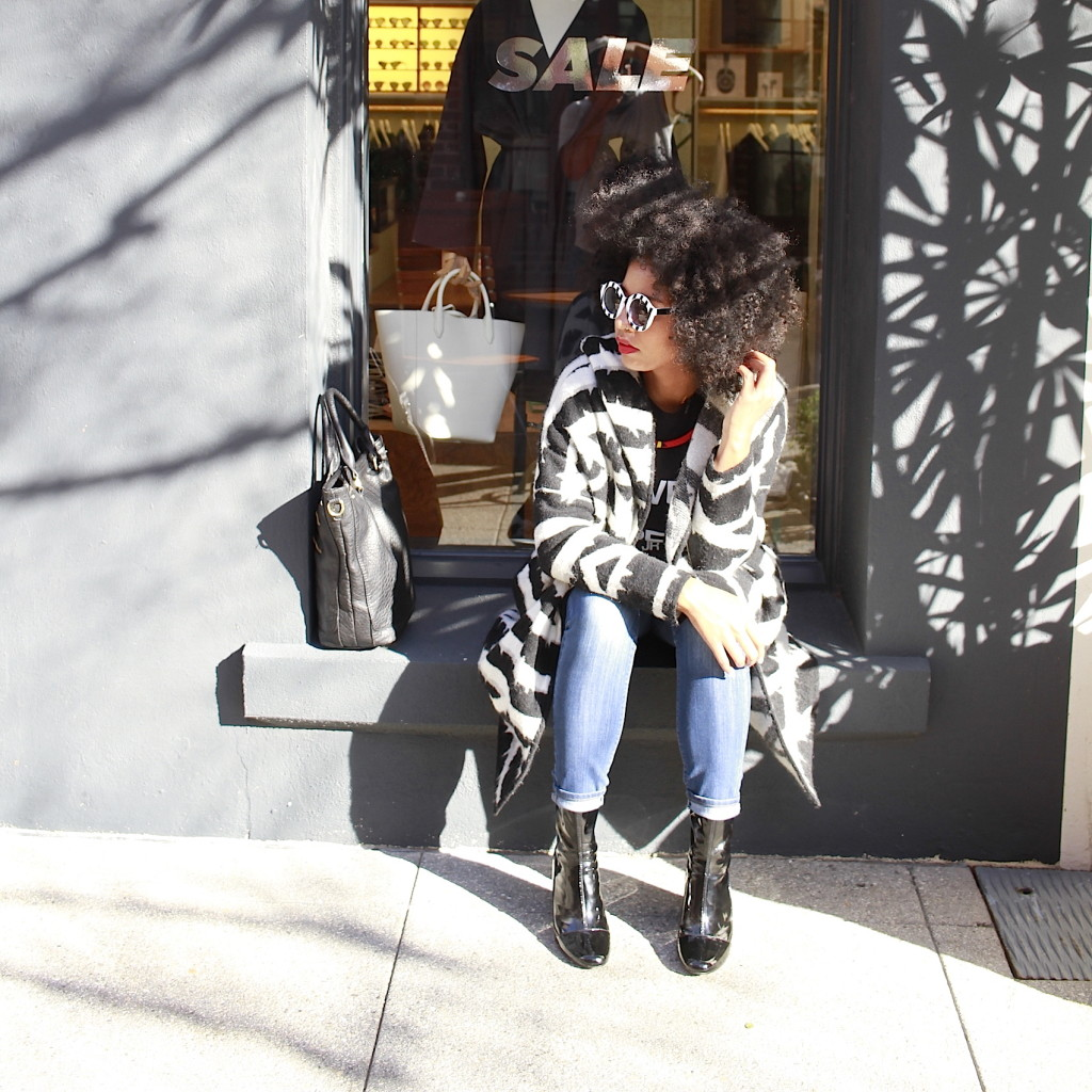 natural hair fashion blogger black girl