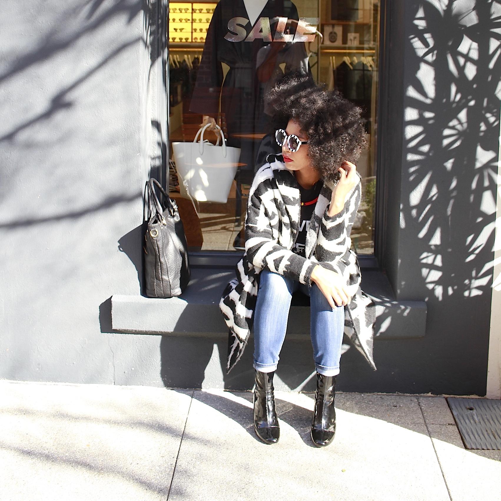 natural hair fashion blogger black girl