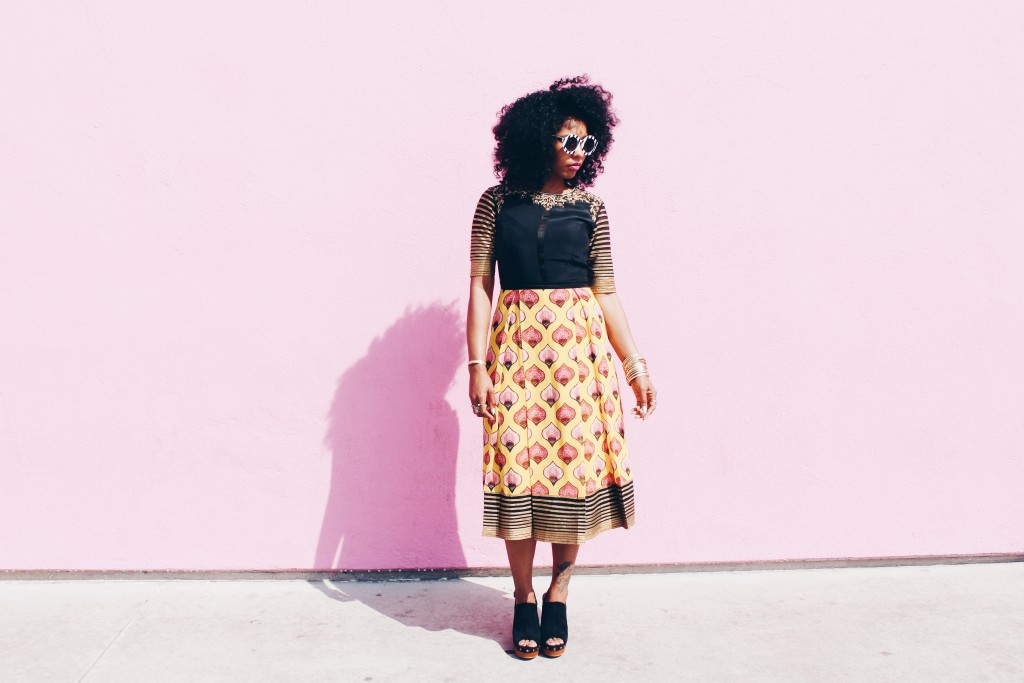 black girl magic style blogger