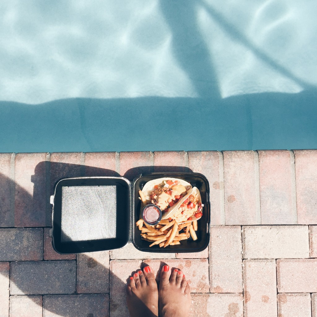 poolside food. summer food