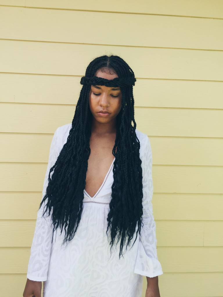 how to wear box braids unique zoe kravitz braids