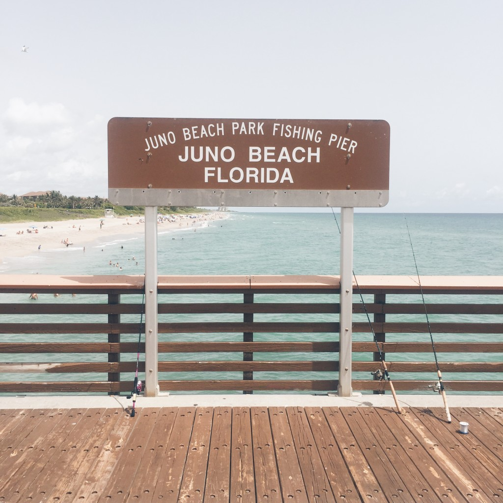 juno beach fishing pier photography