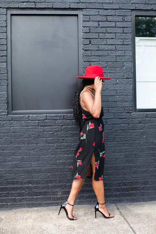 sexy boho chic dress style fashion blogger black girl magic