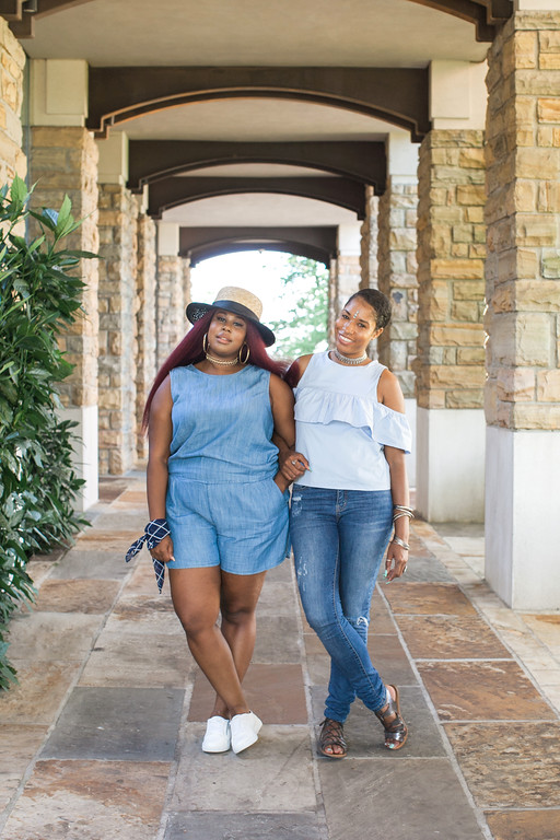 plus size and regular size how to style for