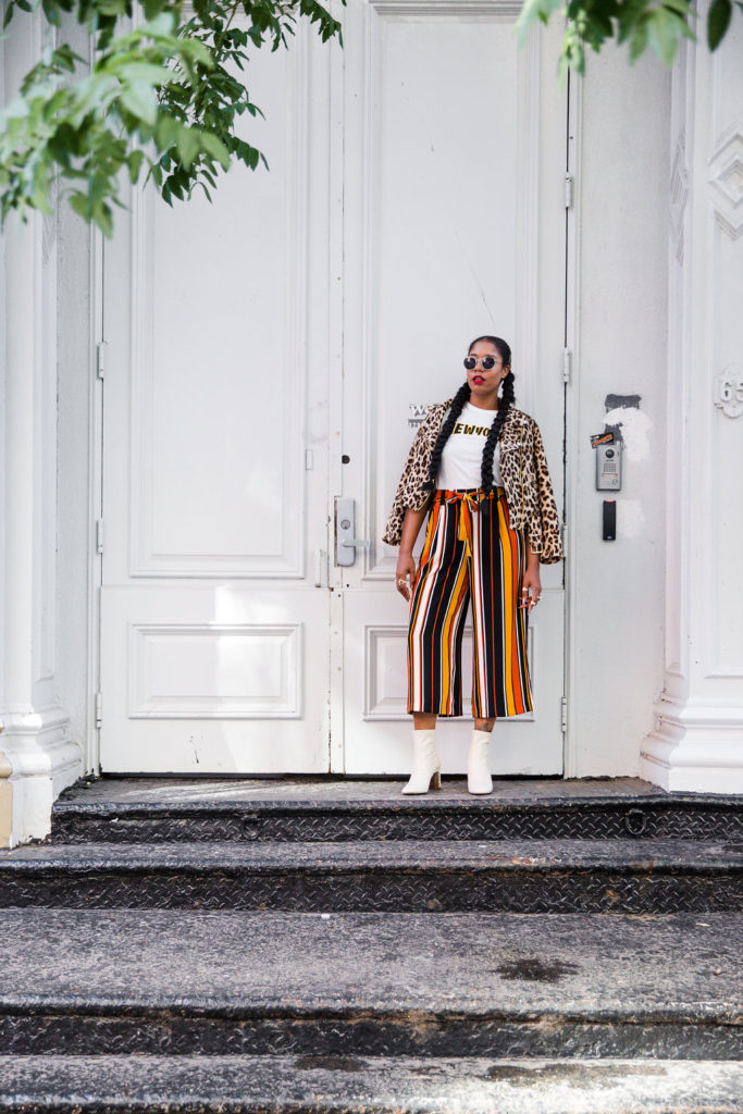 black girl fashion street style blogger