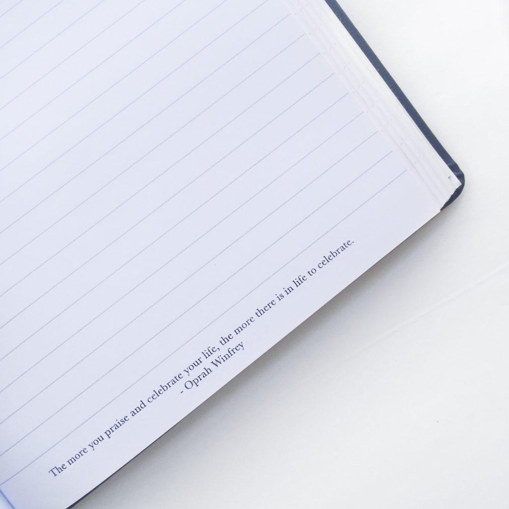 motivational journal. how to keep a journal