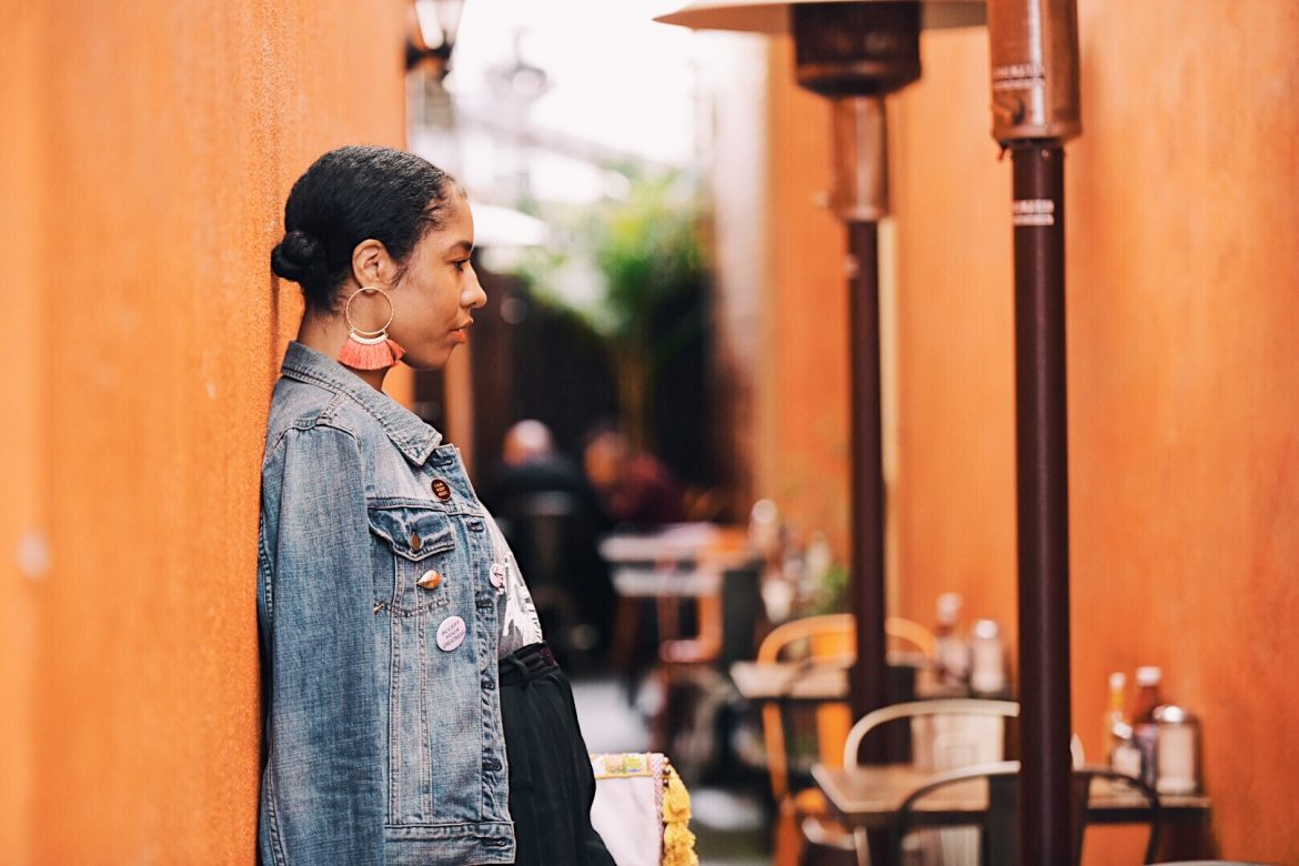 statement earrings. eat north hollywood brunch boho street style la blogger