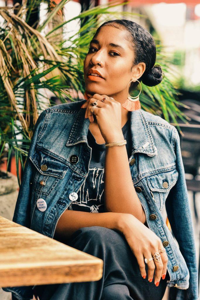 statement earrings. eat north hollywood brunch boho street style la blogger