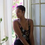 short natural hair summer style lip ring blogger black girl magic
