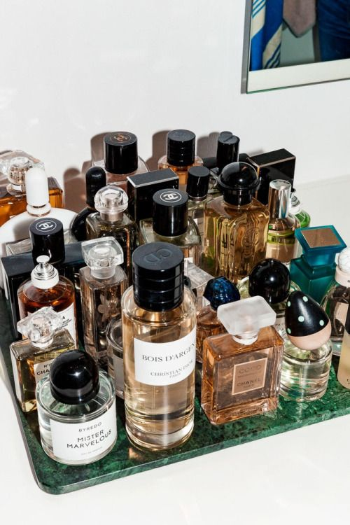 fragrance perfume bottle collection storage display