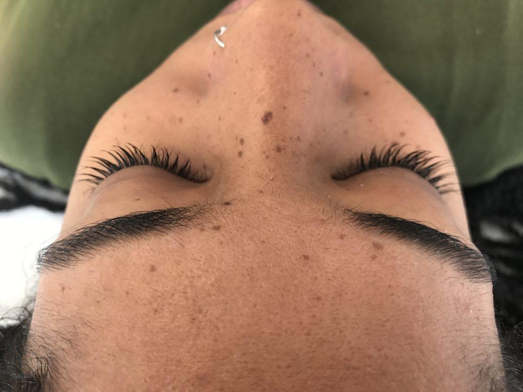 Lash lift natural lash service D.C. DMV PRMP beauty review