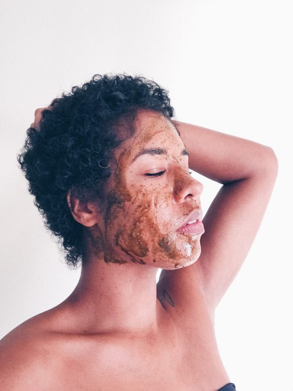 black girl flawless skincare fall routine all natural mask