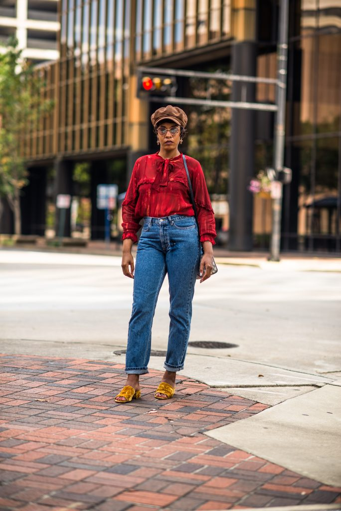 fall 2017 fashion trend colorblocking hat bham birmingham fashion blogger
