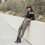 Military chic style inexpensive shop tobi blogger review la fashion black girl Los Angeles blogger. Brooklyn nyc