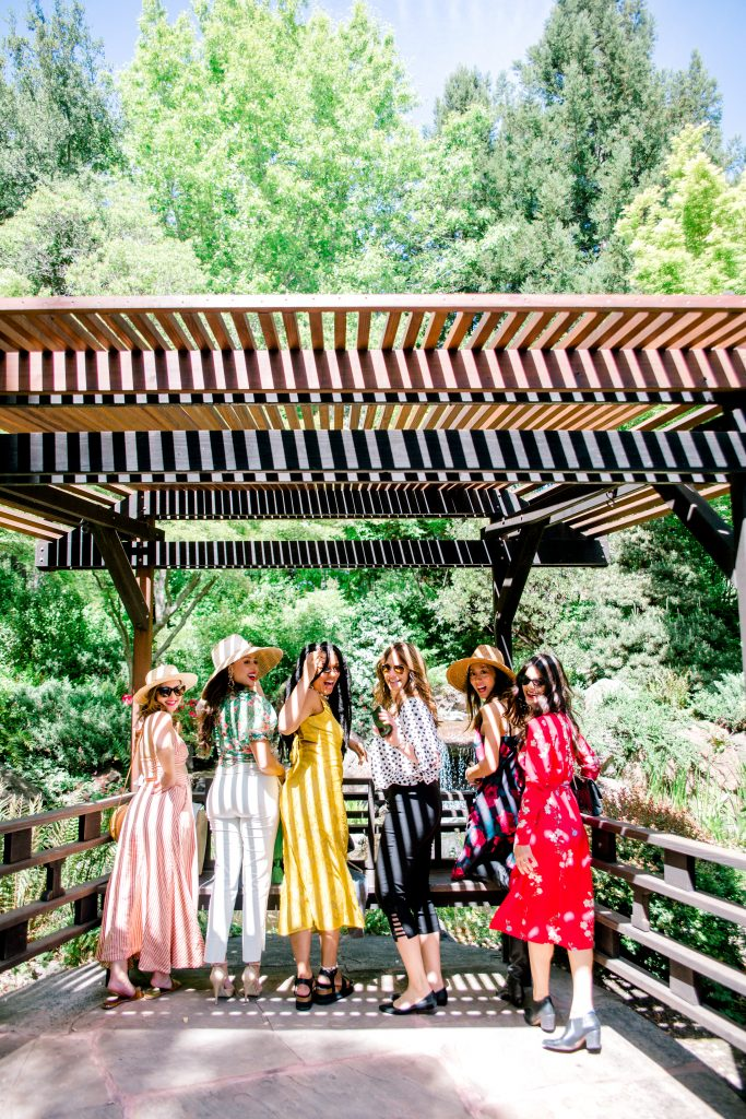 ferrari-carano wine tasting tour wine wellness girls trip getaway. wine blogger influencer.